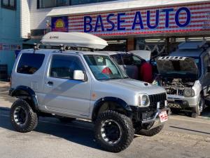 スズキ ジムニー XG パートタイム4WD リフトUP PS PW Wエアバッグ エアコン 社外15インチAW 社外フロント&リアバンパー