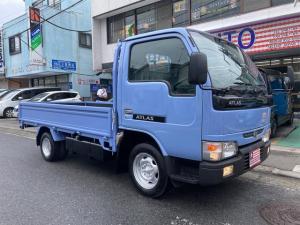 日産 アトラストラック DX ロング 4WD AC MT 修復歴無 ETC 3名乗り ベンチシート