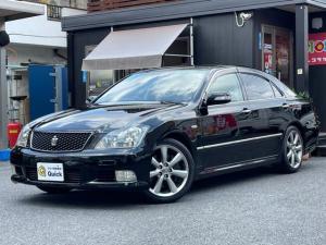 トヨタ クラウン アスリートGパッケージ HDDナビ/バックカメラ/黒革シート/ヘッドアップディスプレイ/ETC/クルコン/全席パワーシート/全席シートヒーター/