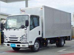 いすゞ エルフトラック ドライバン 積載3t 垂直パワーゲート リアはね上げドア