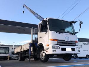 UDトラックス コンドル タダノ 4段クレーン ZE304 2.93t 荷台鉄板張り