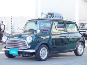 ローバー MINI メイフェア 社外マフラー AT車 革調シートカバー