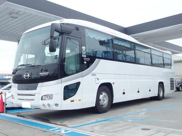 大型観光バス 55人乗り 正座席45席・補助8席 ハイデッカー 貫通トランク3個