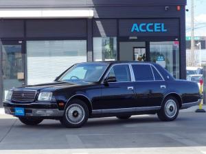 トヨタ センチュリー 中期型 LEDテール 6速AT 革シート 神威ブラック