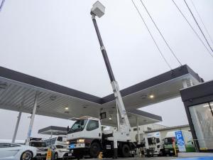 三菱ふそう キャンター 高所作業車 12.5m アイチ SK12A FRPバケット