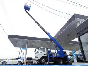 三菱ふそう キャンター 高所作業車 11.9m アイチSS12A 鉄バケット