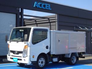日産 アトラストラック  4WD 北村製作所 アルミバン 荷台左スライドドア 5MT・3ペダル ディーゼルターボ 4ナンバー 荷台長さ297cm・幅157cm・高さ109cm 荷台床面地上高82cm NOx・PM適合