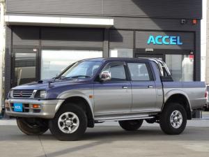 三菱 ストラーダ ベースグレード K74T ダブルキャブ ピックアップ 4WD 5MT 4D56エンジン ICディーゼルターボ 1ナンバー NOx・PM非適合