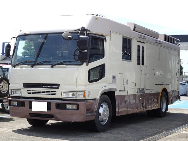大型免許 キャンピング車 8ナンバー登録 10人乗り 6MT 原動機8DC9 NOx・PM適合 車両総重量12,810Kg