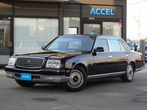 トヨタ センチュリー フロアシフト 中期型 GZG50 フロア6速AT ドアミラー LEDテール 神威エターナルブラック202 ウッドコンビハン&シフト 純正シートカバー リアドアカーテン&電動リアカーテン ファブリックシート 記録簿有