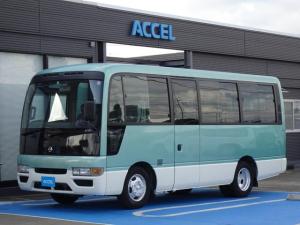 日産 シビリアンバス SX 26人乗り ワンオーナー 実走行5,520Km 自動スイングドア AT車 ABS付き TD42ディーゼル ビニールレザーシート NOx・PM適合