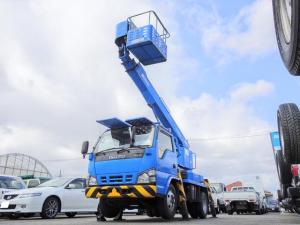 いすゞ エルフトラック  高所作業車 11.9m アイチSS12A 鉄バケット アワメータ2862h 上物同年式 5MT・3ペダル 実走行1.3万Km台 NOx・PM適合