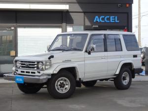 トヨタ ランドクルーザー70 ZX HZJ77HV 1ナンバー AT車 寒冷地仕様車 リアヒーター付き サスペンションシート 1HZエンジン タイミングベルト交換済み 前後リーフサス NOx・PM非適合