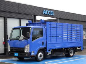 いすゞ エルフトラック  資源回収車 積載2,000Kg 荷台長さ435cm・幅191cm 荷台木製 廃品回収 古紙回収 ゴミ回収 6MT 1ナンバー登録 NOx・PM適合