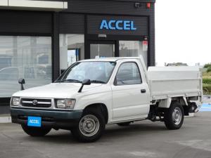 トヨタ ハイラックス  RZN147 リア極東パワーゲート付き フロア5速 4ナンバー 2人乗り 積載850Kg 原動機1RZ-E タイミングチェーン ガソリン車 NOx・PM適合