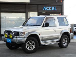 三菱 パジェロ ワイド XR-II V26WG ワンオーナー 5MT 4WD ディーゼルターボ 4M40エンジン 社外16インチAW NOx・PM非適合