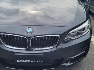 BMW 2シリーズ M240iクーペ Mパフォーマンスカーボンインテリアパーツ RECAROシート ブラックレザーシート インテリジェントセーフティ
