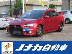 三菱 ランサー エボリューション ファイナルエディション 1000台限定車