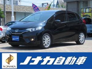 ホンダ フィット 13G・Fパッケージ 5速MT車 ローダウン 社外ナビTV