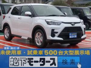 トヨタ ライズ G/ナビレディパッケージ/プッシュスタート/登録済未使用車
