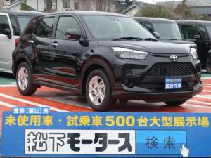 トヨタ ライズ G/ナビレディ/プッシュスタート/LED/登録済み未使用車