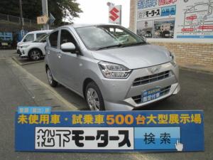 ダイハツ ミライース X リミテッドSAIII/LEDライト/ディーラー試乗車