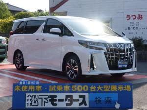 トヨタ アルファード 2.5SCパッケージ/サンルーフ/スペアタイヤ/両側電動