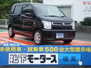 スズキ ワゴンR ハイブリッドFX/セーフティ&プッシュ/ディーラー試乗車