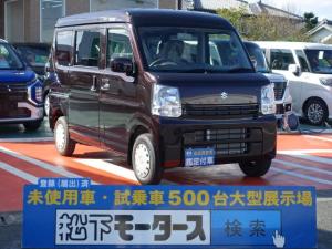 スズキ エブリイ ジョインターボ /5MT/2WD/両側スライドドア/キーレス/エアコン/パワステ/届出済未使用車