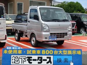 スズキ キャリイトラック KCエアコン・パワステ 4WD KC/エアコン/パワステ/5MT/4WD/届出済未使用車