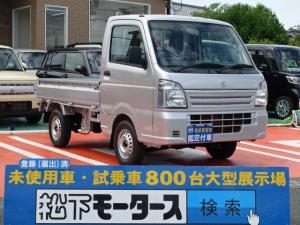 スズキ キャリイトラック KCエアコン・パワステ KC/エアコン/パワステ/AT/4WD/届出済未使用車