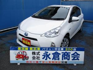 トヨタ アクア G メモリーナビ バックカメラ 地デジTV Bluetooth スマートキー オートライト