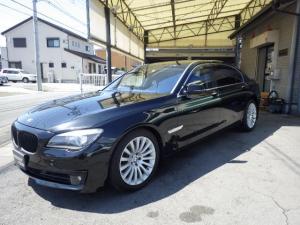 BMW 7シリーズ 750Li 後席セパレート 後席モニター サンルーフ