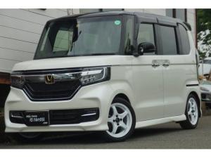 ホンダ N-BOXカスタム G・EXターボホンダセンシング HKS車高調整エンケイ15インチホイールタイヤ新品装着済
