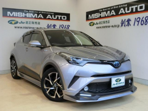 トヨタ C-HR HV1.8G LEDライト TSセンス TRDエアロ ナビ
