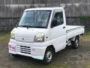 三菱 ミニキャブトラック  5速マニュアル エアコン パワステ 軽トラック ホワイト