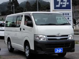 トヨタ ハイエースバン ロングDX・電動リフト付き・ETC・キーレス
