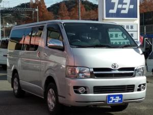 トヨタ ハイエースバン ロングスーパーGL 純正ナビ・バックカメラ・キーレス・4WD