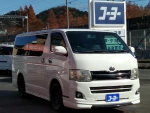 トヨタ ハイエースバン ロングスーパーGL 社外メモリーナビ・ETC・キーレス