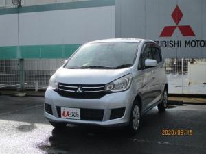 三菱 eKワゴン M e-アシスト CDラジオ FCMcity(衝突被害軽減ブレーキ)アイドリングストップ シートアンダートレイ 運転席シートヒーター