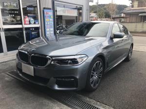 BMW 5シリーズ 530e Mスポーツアイパフォーマンス ブラックレザー 純正HDDナビ バックカメラ ワンオーナー