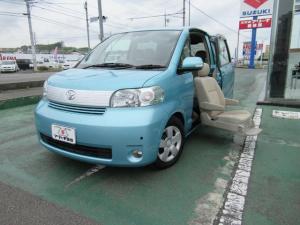 トヨタ ポルテ 福祉車両 助手席リフトアップシート 取説付き 前後センサー