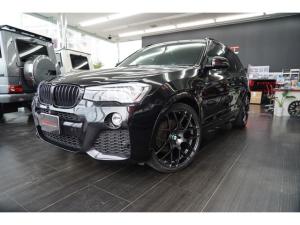 BMW X3 xDrive 20d Mスポーツ ワンオーナー・VMR22インチAW・KW車高調・アーキュレー4本出しマフラー・衝突軽減・クルーズコントロール・ハーフレザーシート.2カメラドライブレコーダー・全周囲カメラ・パワーバックドア