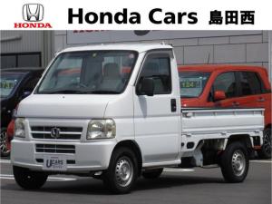 ホンダ アクティトラック SDX 4WD 5MT エアコン パワステ AMラジオ ワンオーナー