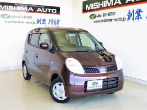 日産 モコ E ショコラティエ スマートキー 専用内装 新品タイヤ SDナビTV