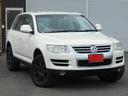フォルクスワーゲン/VW トゥアレグ V6 黒革シート 純正HDDナビ地デジ パドルシフト