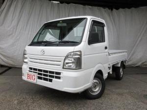 マツダ スクラムトラック KCエアコン・パワステ 4WD F5速 エアB タイヤ新品