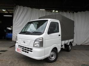 日産 NT100クリッパートラック DX F5速 幌付 Wエアバック ワンオーナー タイヤ新品