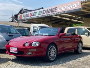 トヨタ セリカ  メモリーナビ フルセグTV Bluetooth 18AW  新品タイヤ オープンカー 電動オープン オートマ フル装備 車検整備付き