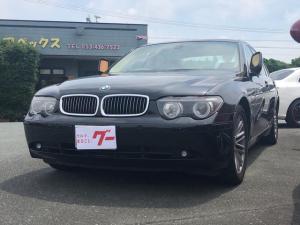 BMW 7シリーズ 745i 革シート ナビ AW サンルーフ AT 5名乗り